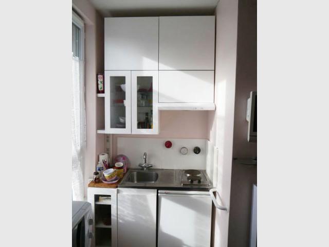 Studio Rueil coin cuisine