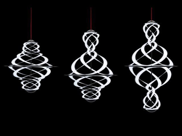 Le luminaire Lactea par Shoji Katsume (Studio Niji) - VIA aides à projet 2013