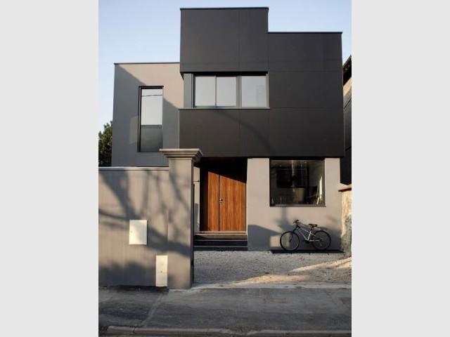 Une maison traversante  - Reportage maison Sophie Nicolas Architecte