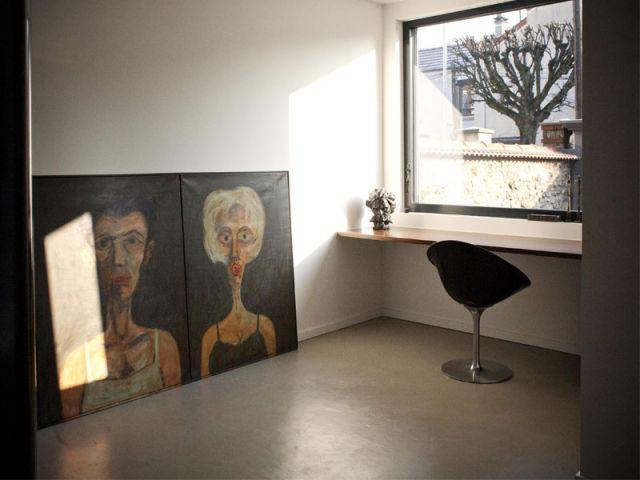 Bureau - Reportage maison Sophie Nicolas Architecte