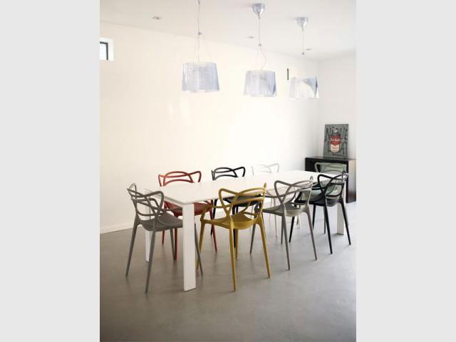 Salle à manger design - Reportage maison Sophie Nicolas Architecte