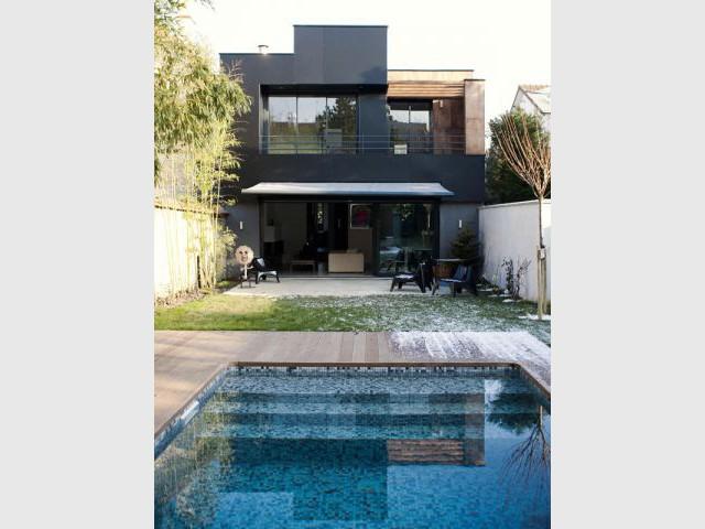 Façade côté jardin - Reportage maison Sophie Nicolas Architecte