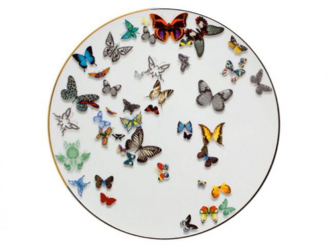 Assiette de présentation Butterfly Parade - Arts de la table Lacroix