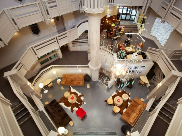 Hall d'entrée - Hôtel Val Thorens - ID.Associés