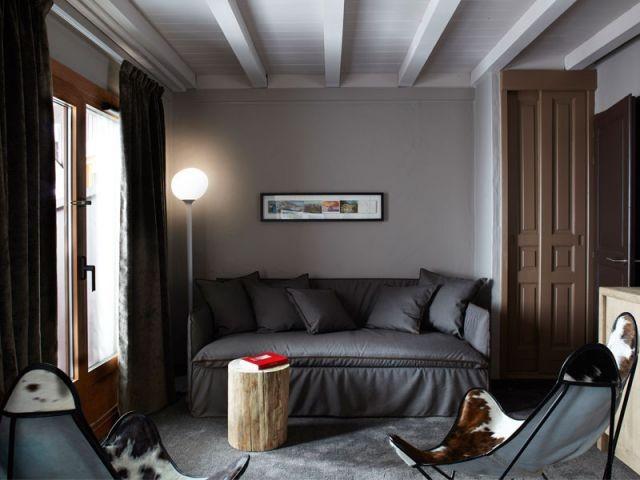 Petit salon - Hôtel Val Thorens - ID.Associés