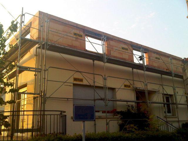 Rénovation énergétique du rez-de-chaussée au plafond - Surélévation BBC rénovation