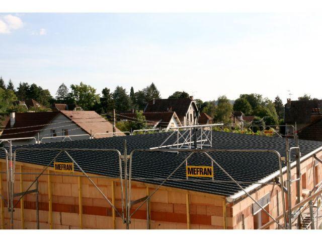 Nouvelle toiture sur la surélévation - Surélévation BBC rénovation