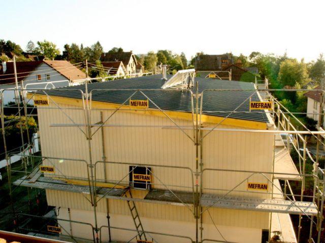 Bardage et ponts thermiques - Surélévation BBC rénovation