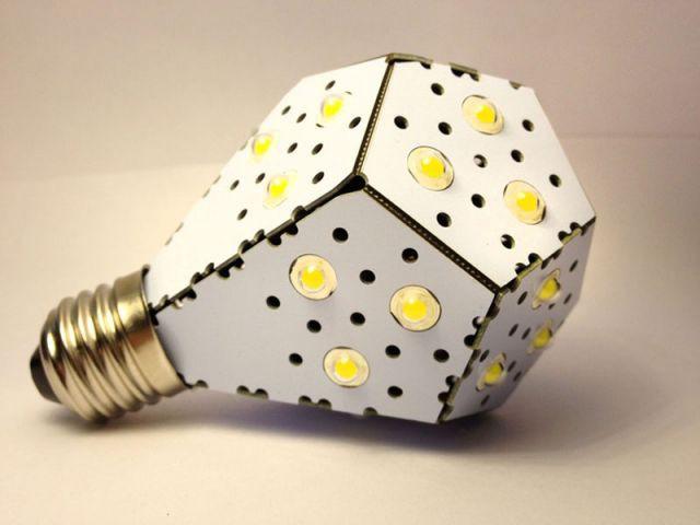 Ampoule blanche 12W Nanolight