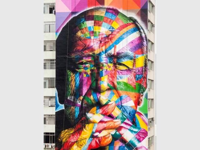 Zoom sur le portrait - Oscar Niemeyer