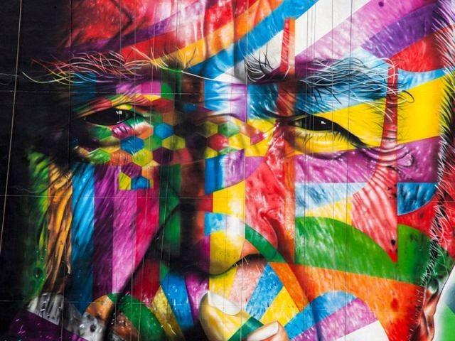 Un portrait coloré et géométrique - Oscar Niemeyer