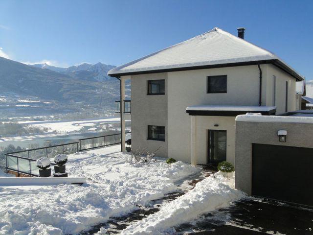 Maison en hauteur - Maison Alpes du Sud