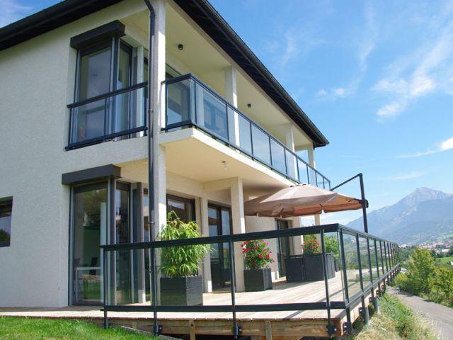 Une maison qui s'inscrit dans la logique de la basse consommation - Maison Alpes du Sud
