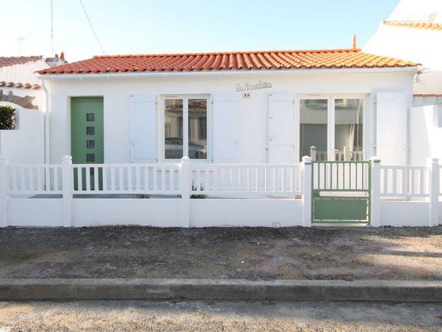 Nouvelle façade - Chantier Vendée  maison 1948 rénovée I-Revov