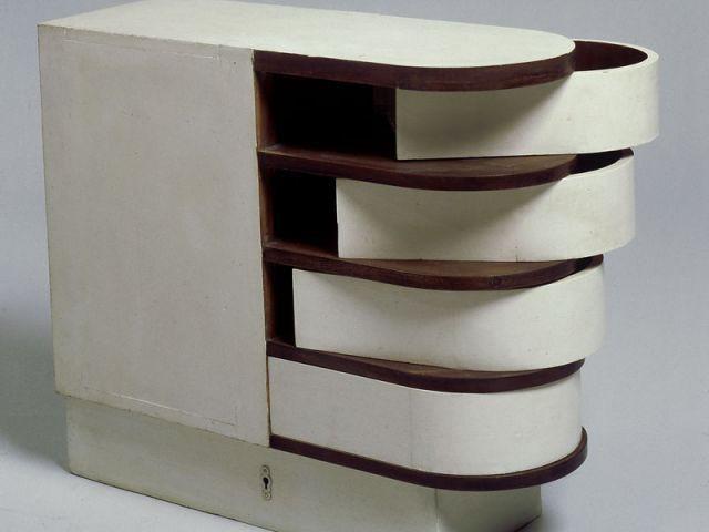 Cabinet à tiroirs pivotants - Eileen Gray