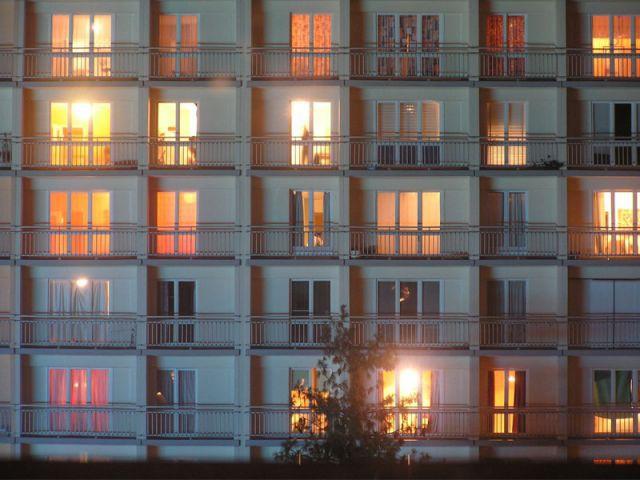 Immeubles de nuit