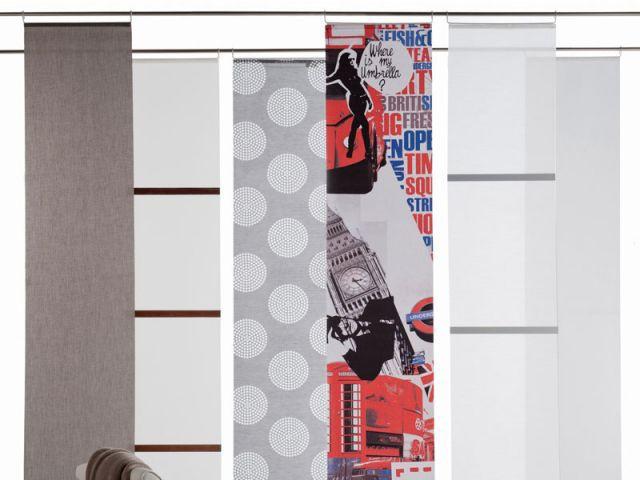 Des panneaux japonais qui s'adaptent à la barre existante - Castorama
