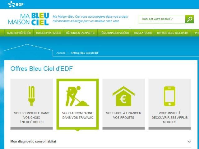 edf lance un site internet d di aux conomies d 39 nergie. Black Bedroom Furniture Sets. Home Design Ideas