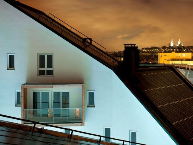 Balcon vue de nuit - cardinet-quintessence