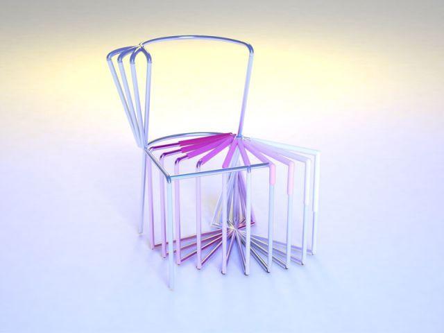 Chaise Arrêt sur image - Le Printemps
