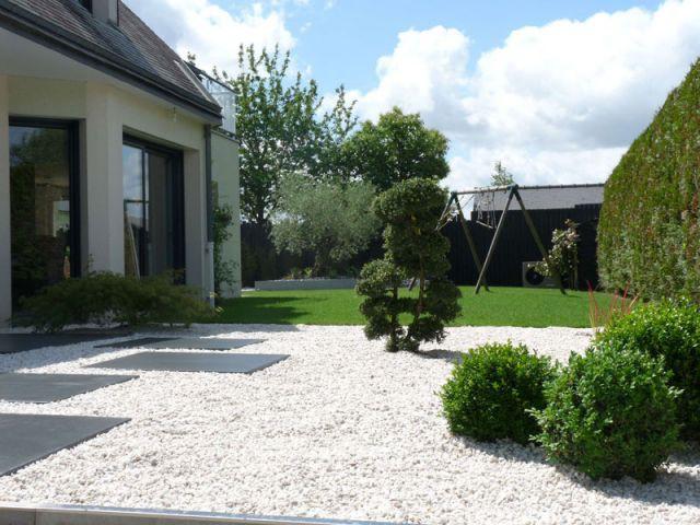 Photo après entrée cardinal jardin Olivier Deniel