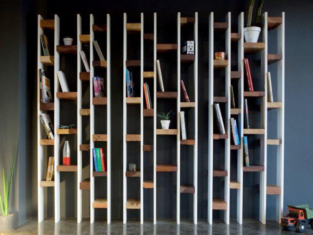 Une bibliothèque dans un couloir - Bien choisir sa bibliothèque