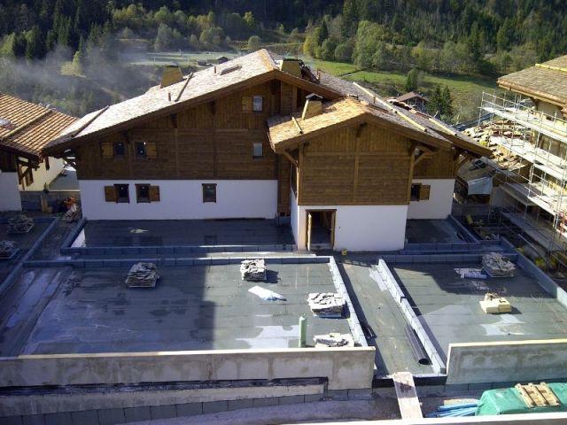 Les toitures à deux pans  - Chalet mgm à Chatel
