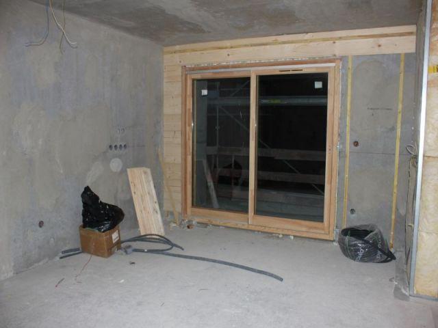 A l'intérieur du futur chalet  - Chalet mgm à Chatel