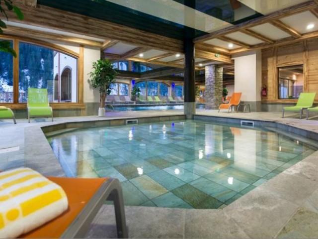 La piscine  - Chalet mgm à Chatel