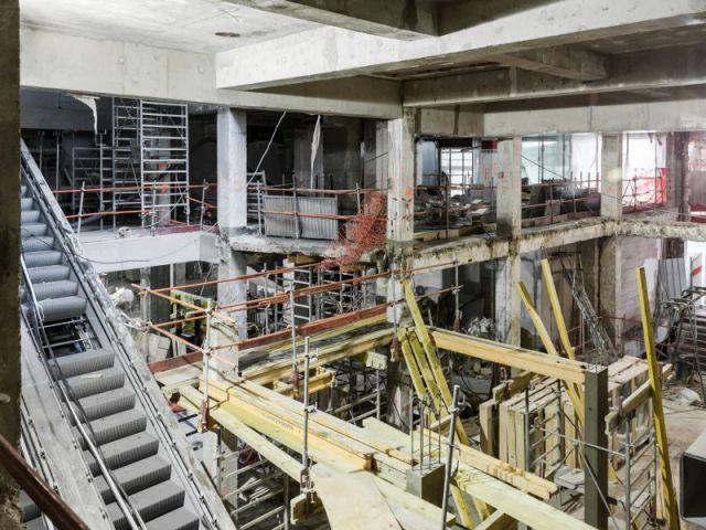 A l'intérieur du chantier - Les trois quartiers à Madeleine