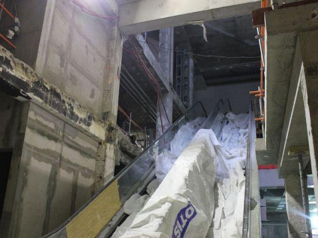 Vue de l'escalator  - Les trois quartiers à Madeleine