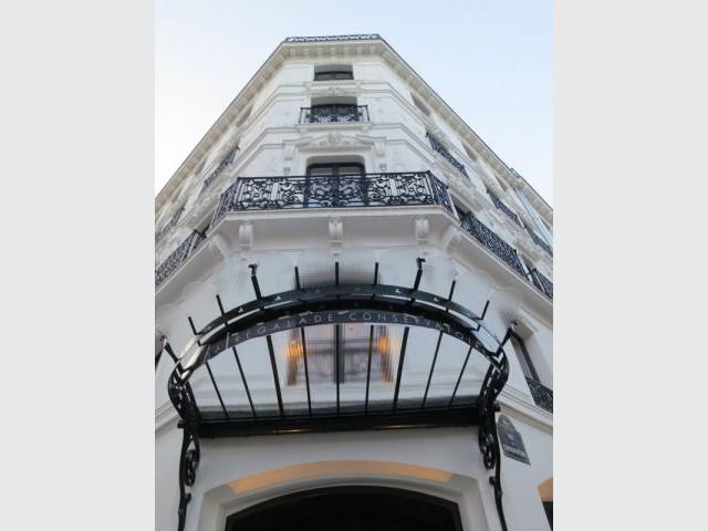 Des éléments conservés - hotel de nell
