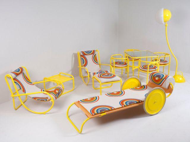 Le mobilier du film la piscine mis en vente Mobilier piscine