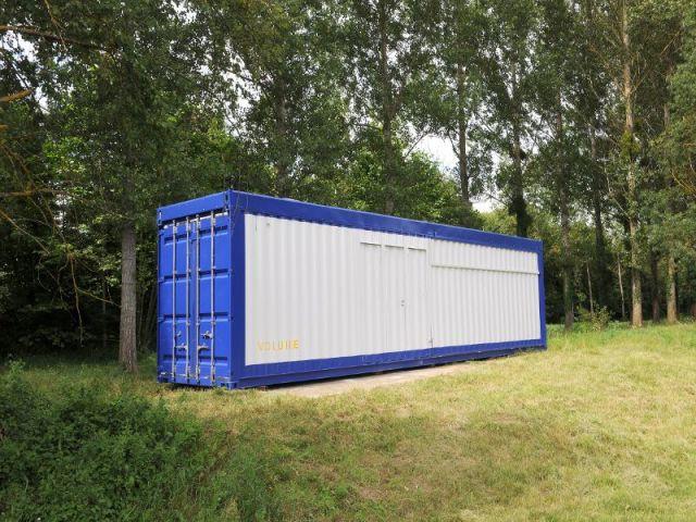 Transformer Container Maritime Habitation 1 container recyclé et revisité en loft design