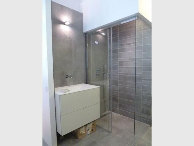 Vue sur la sallede bains