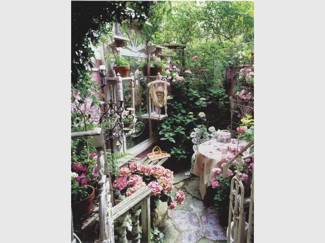 Jardin bohème - jardin vintage