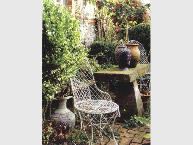 Mobilier vintage - jardin vintage