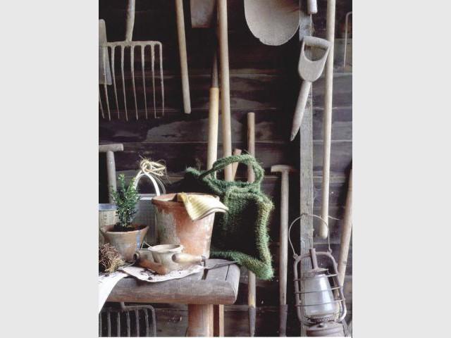 Outils anciens - jardin vintage