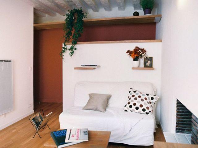 1 studio de 19 m2 astucieux et multifonctionnel. Black Bedroom Furniture Sets. Home Design Ideas