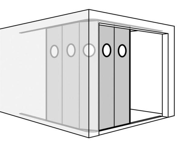 Bien choisir sa porte de garage for Qu est ce qu une porte de garage sectionnelle