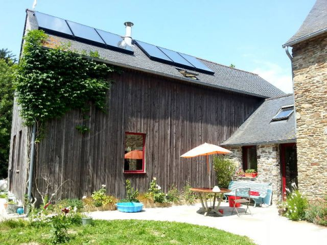 Panneaux solaires thermiques pour l'eau et le chauffage - Concours Lafarge Artevia