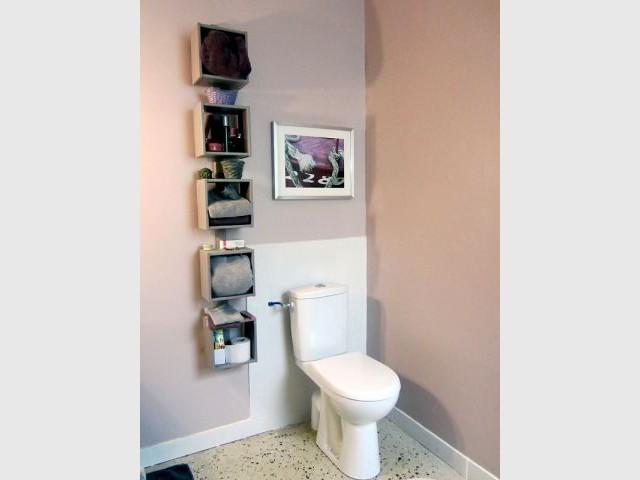 Les WC au sol en béton poli - Concours Lafarge Artevia