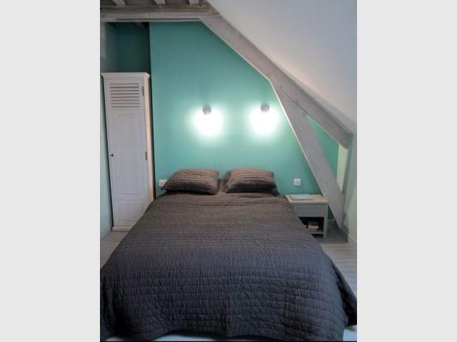 Chambre Birgorneau, à l'étage - Concours Lafarge Artevia
