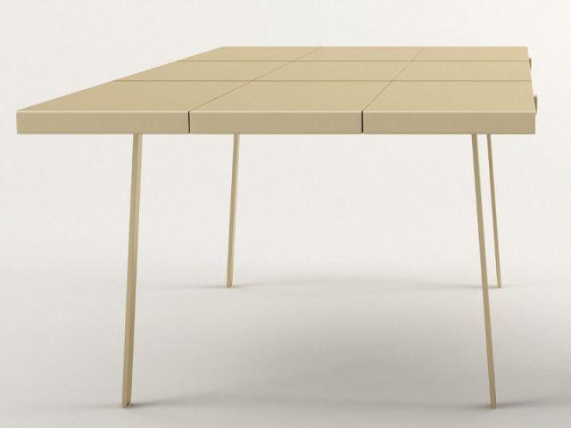 La table Copper Frame par Christophe Pillet pour KME - Milan 2013