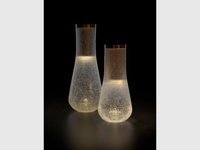 La collection de lampes de Noé Duchaufour-Lawrance pour Gaia&Gino - Milan 2013