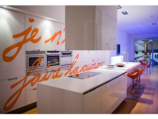Entrée par la cuisine - Loft Madrid