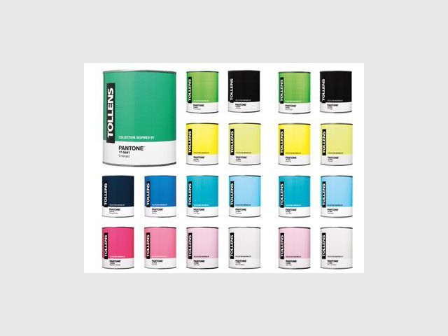 collection inspired by Pantone de Tollens.