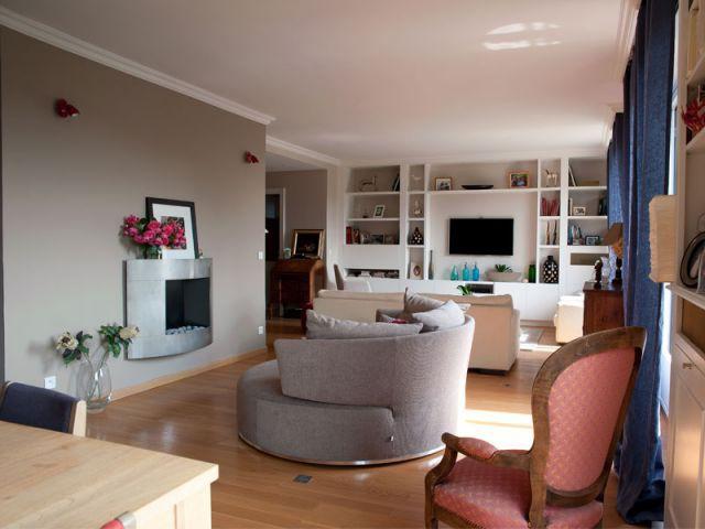 Grande pièce à vivre - La Maison des travaux - Boulogne & Saint-Cloud