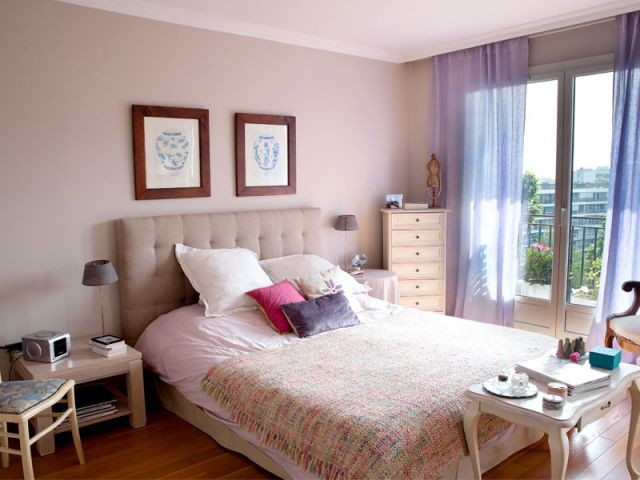 Chambre parentale - La Maison des Travaux - Boulogne & Saint-Cloud