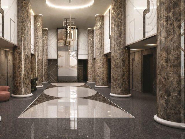 Lobby privé - Tour Odéon